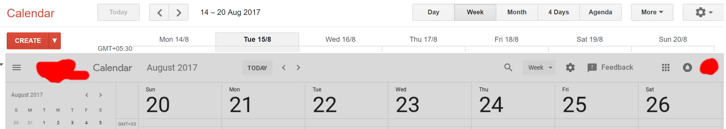 Whats New On Calendar >> Revamped Google Calendar Ui For Desktop Spotted In Leaks