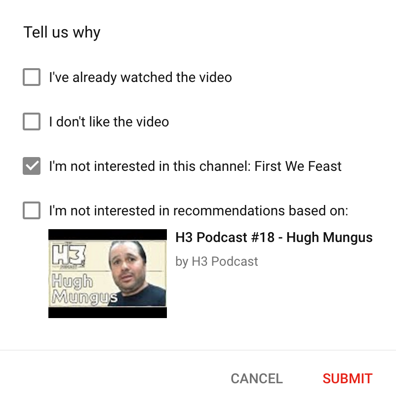 Achieve a Superior YouTube Feed