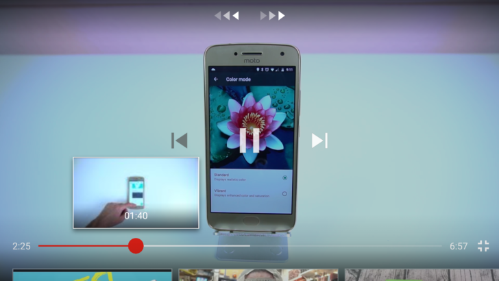 YouTube Android App Updated: Now Shows Previews on Seek Bar
