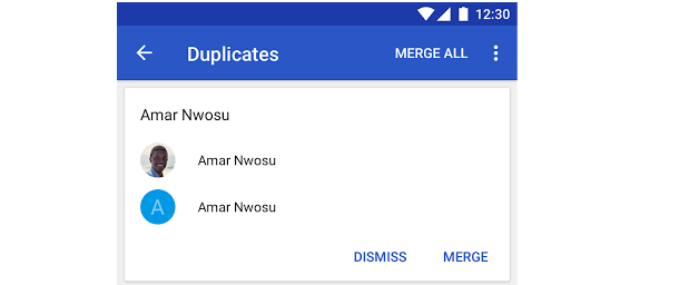Google Contacts App Introduces Many New Features