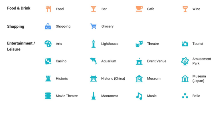 Google Maps Gets A Design Overhaul New Icons And Colors - Us-bank-google-maps