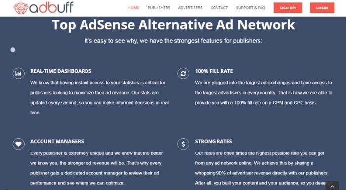 3 Of The Best Google Adsense Alternatives To Increase Your Online Income