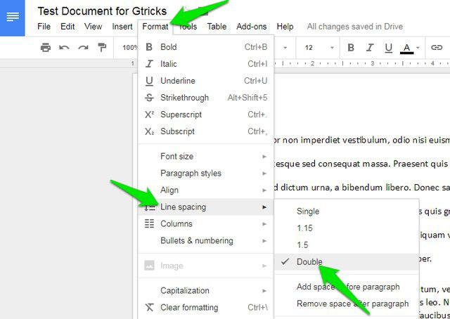 How To Add Double Space In Google Docs Desktop And Mobile