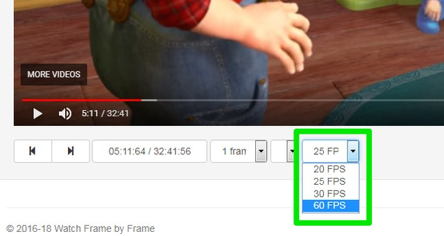 How To Play YouTube Videos Frame By Frame