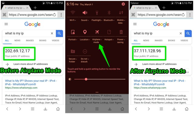 How To Change IP Address on Android (Local and Public)