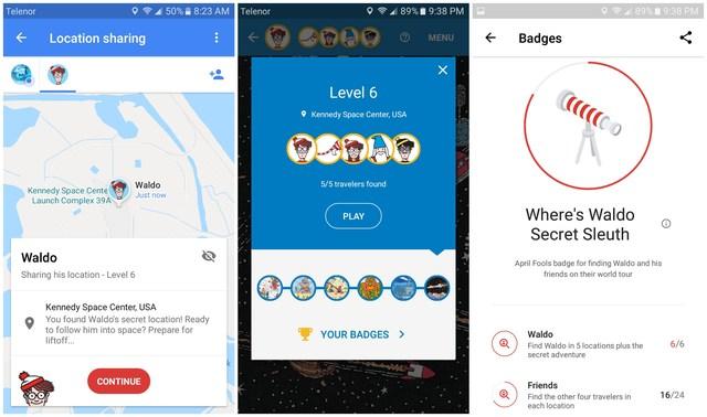 Where's Waldo Google Maps game