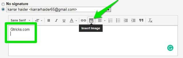 add image in gmail signature