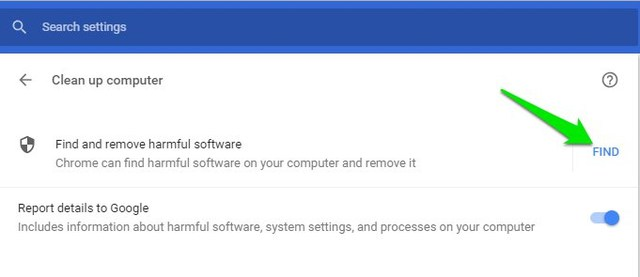 find harmful software using Chrome