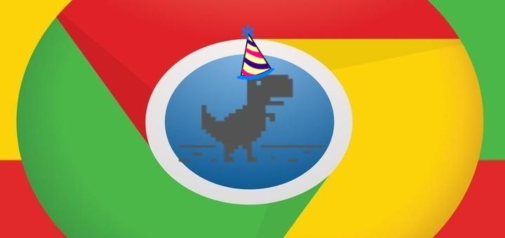 Chrome Offline Dino Game May Get a Birthday Mode