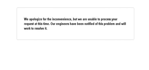 "Fix ""we are unable to process your request at this time"" Google Adsense Error"