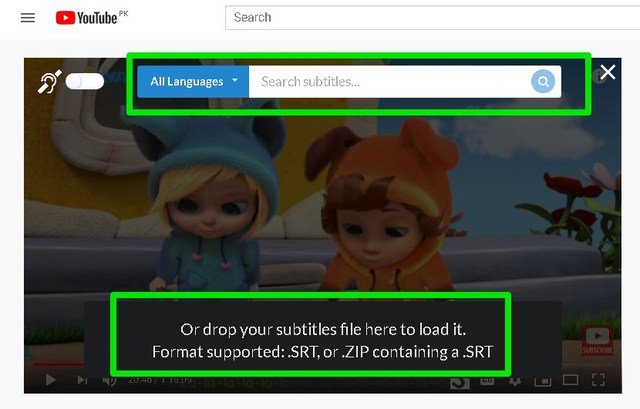 add subtitles to YouTube videos