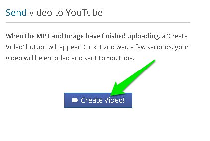 create video button