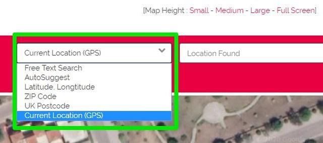 Find location on DaftLogic