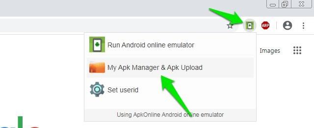 APK uploader