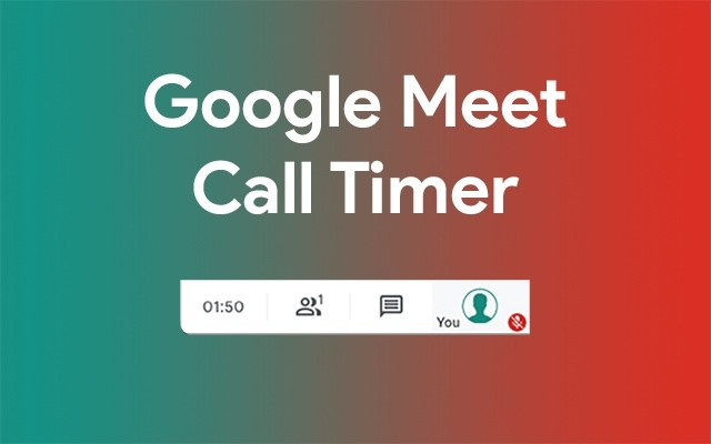 Google Meet Call Timer