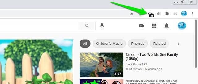 Mute Chrome tabs